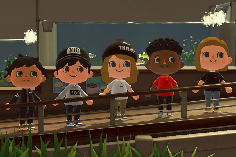 100 Thieves släpper sina kollektioner på 'Animal Crossing: New Horizons'