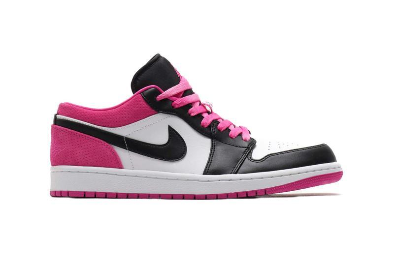 """Se en rosa tolkning av Air Jordan 1 Low på """"Active Fuchsia"""""""