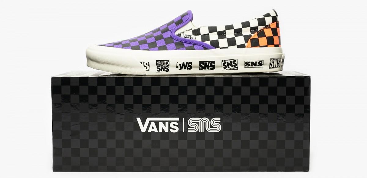 """Se Vans samarbeta med Sneakersnstuff på """"Venice Beach Pack"""""""