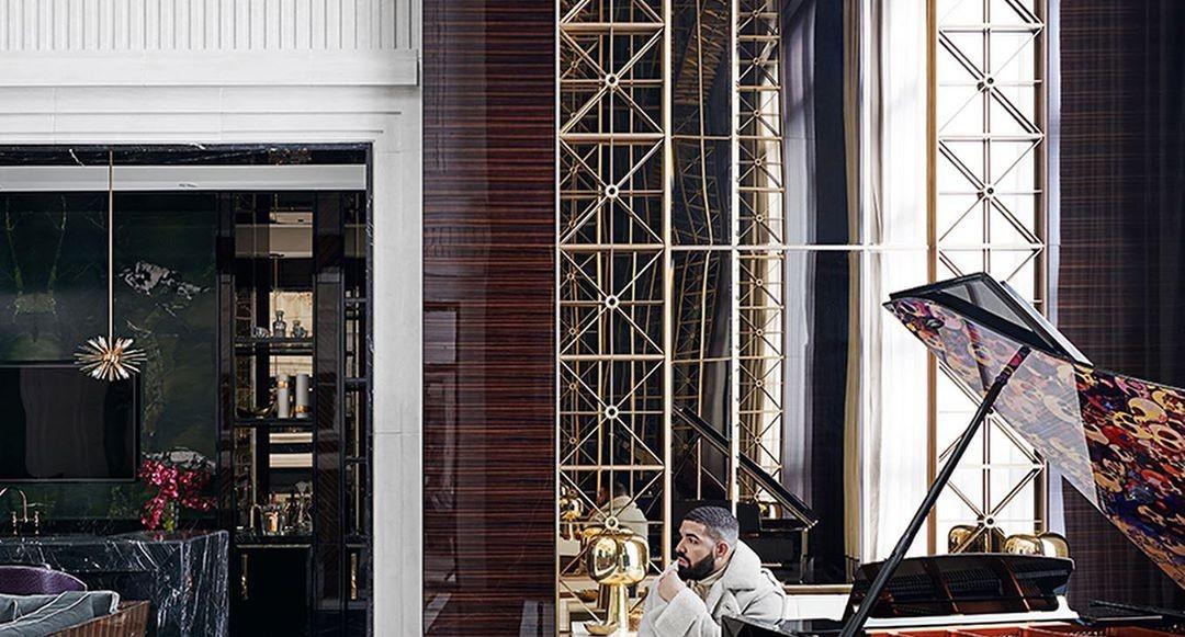 Ta en titt inuti Drake's mansion i Toronto