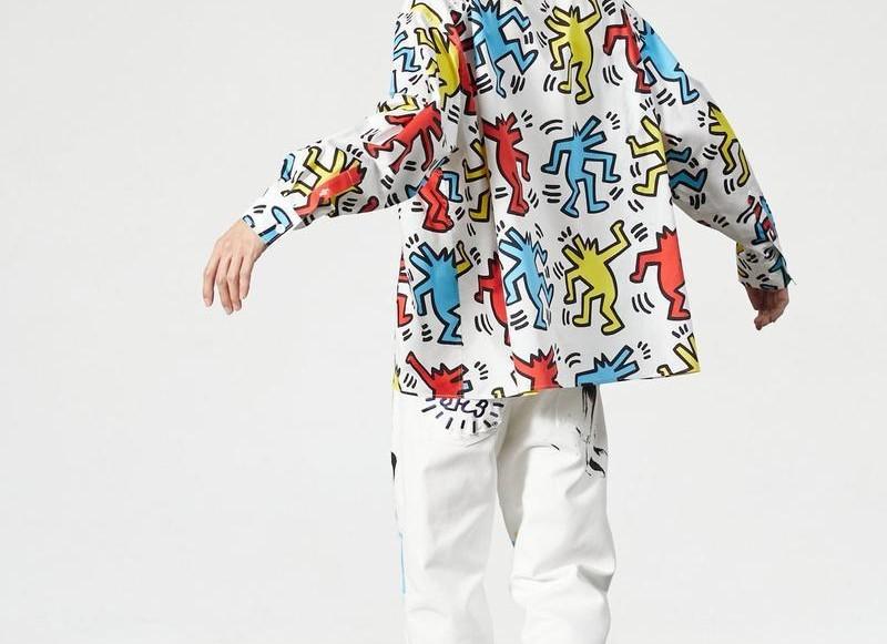 Keith Haring går samman med Études inför SS20