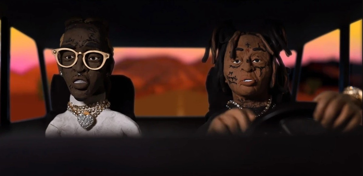 "Se Trippie Redd & Young Thugs animerade musikvideo till ""YELL OH"""