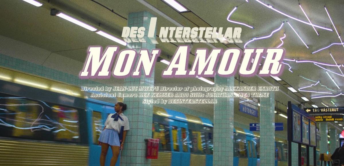 """DesInterstellar gör debut med """"MON AMOUR"""" + musikvideo"""