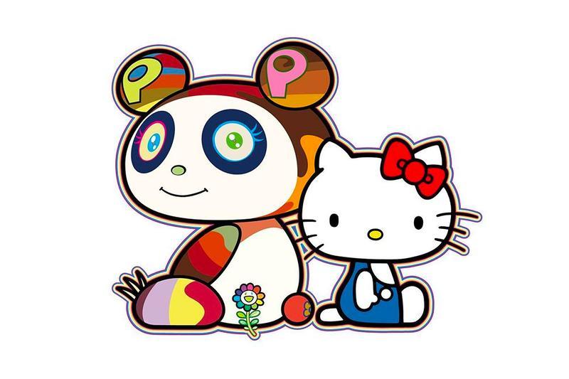 Takashi Murakami avslöjar samarbete med Hello Kitty