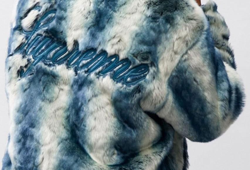 Supreme teasar FW20 med en pälsjacka