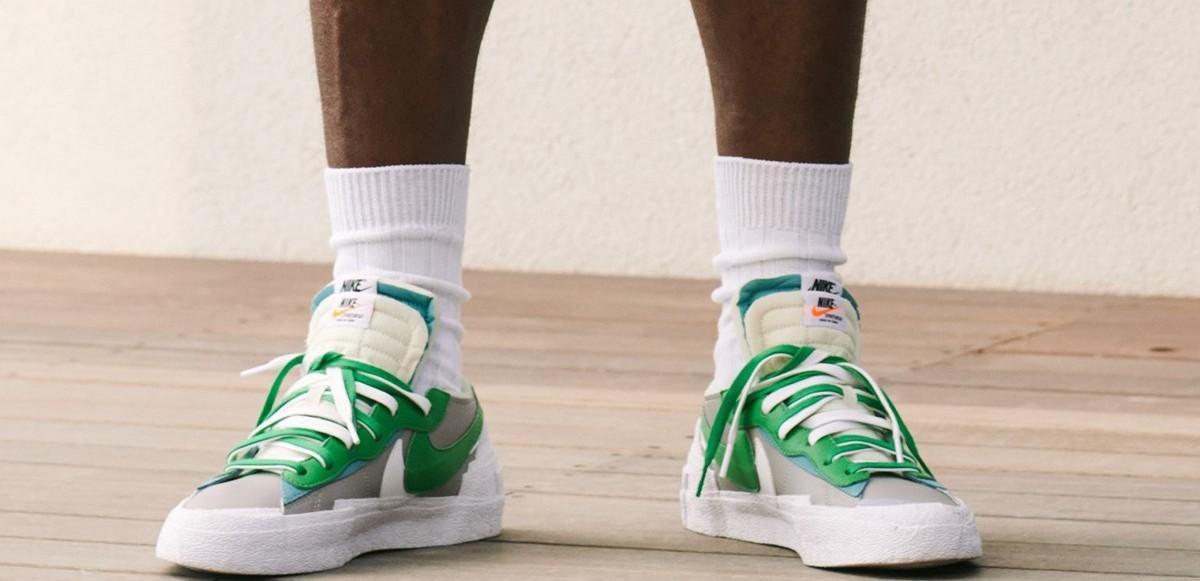 """Ta en titt på sacai x Nike """"Blazer Low"""""""