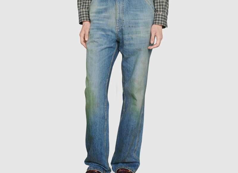Gucci släpper jeans med gräsfläckar för 7000kr