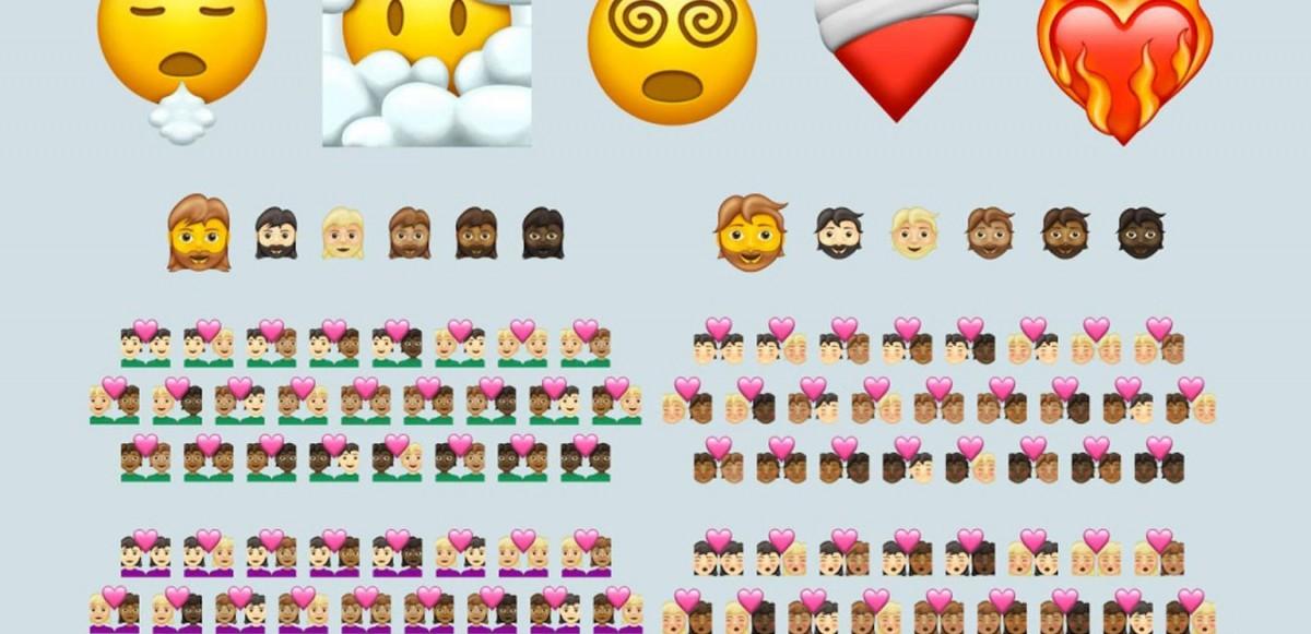 Mer representation i Apple's senaste Emoji-uppdatering