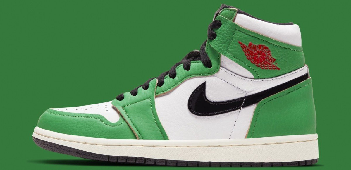 "Damexklusiva Air Jordan 1 High ""Lucky Green"" släpps i oktober"