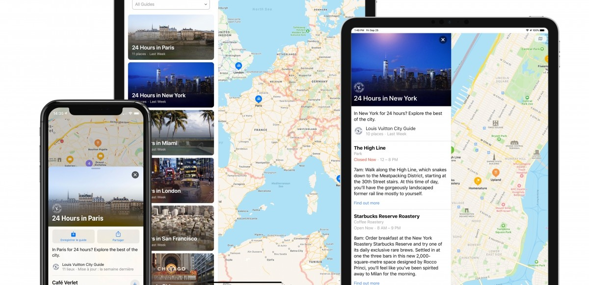 Louis Vuitton City Guides finns nu i Apple Maps