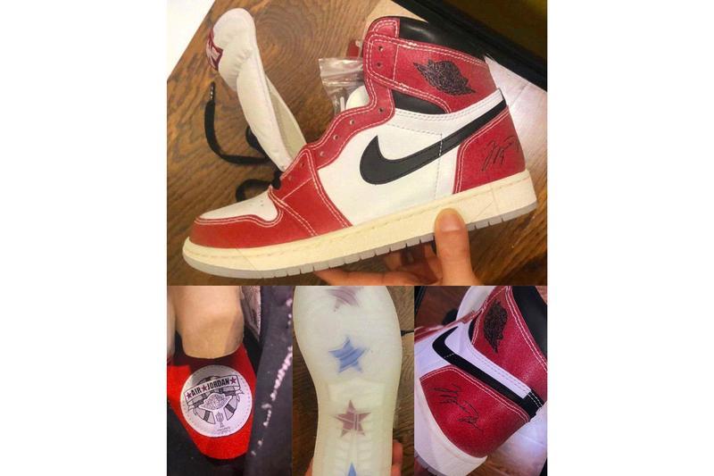 """Se bilder på Trophy Room x Air Jordan 1 """"Chicago"""""""