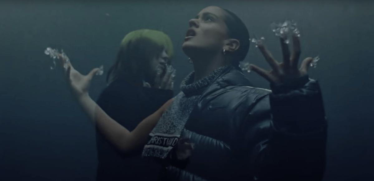 """Hör Billie Eilish & Rosalía på """"Lo Vas A Olvidar"""""""