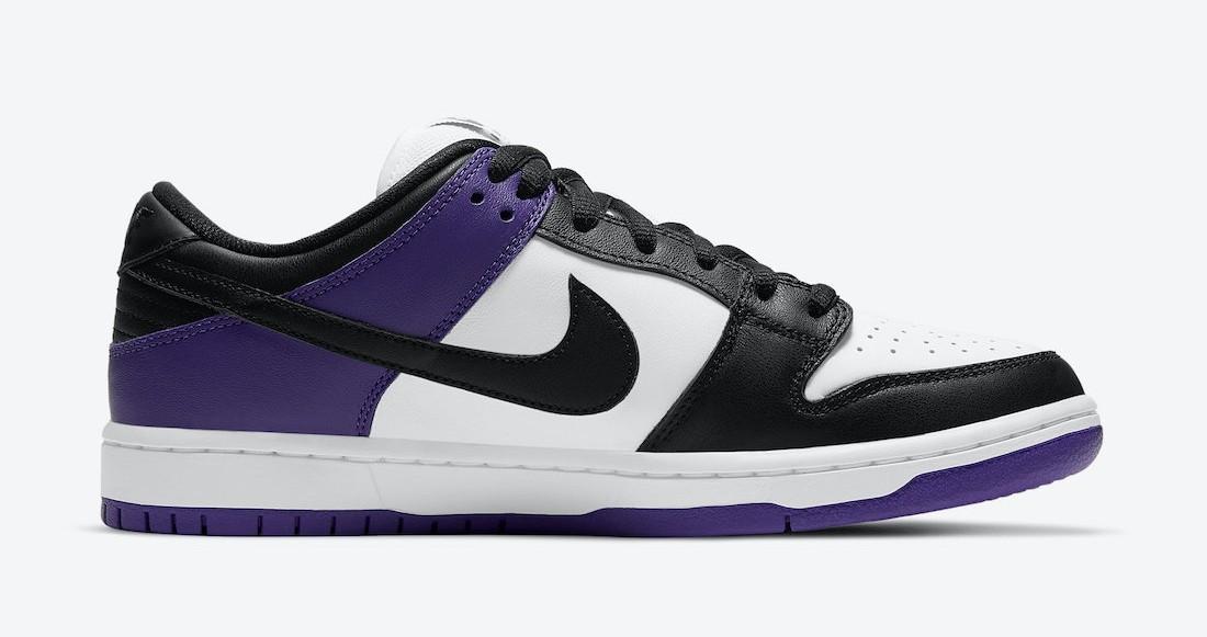 "Se alla raffles för Nike SB Dunk Low ""Court Purple"""