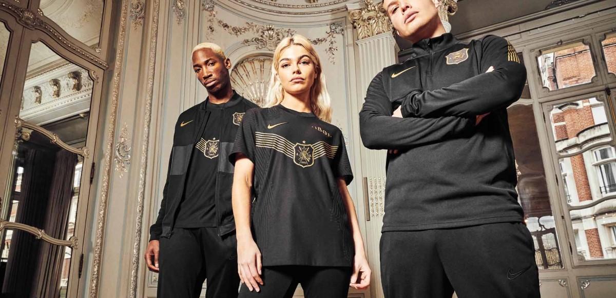 Ta en närmre titt på AIK x Nike CXXX Edition