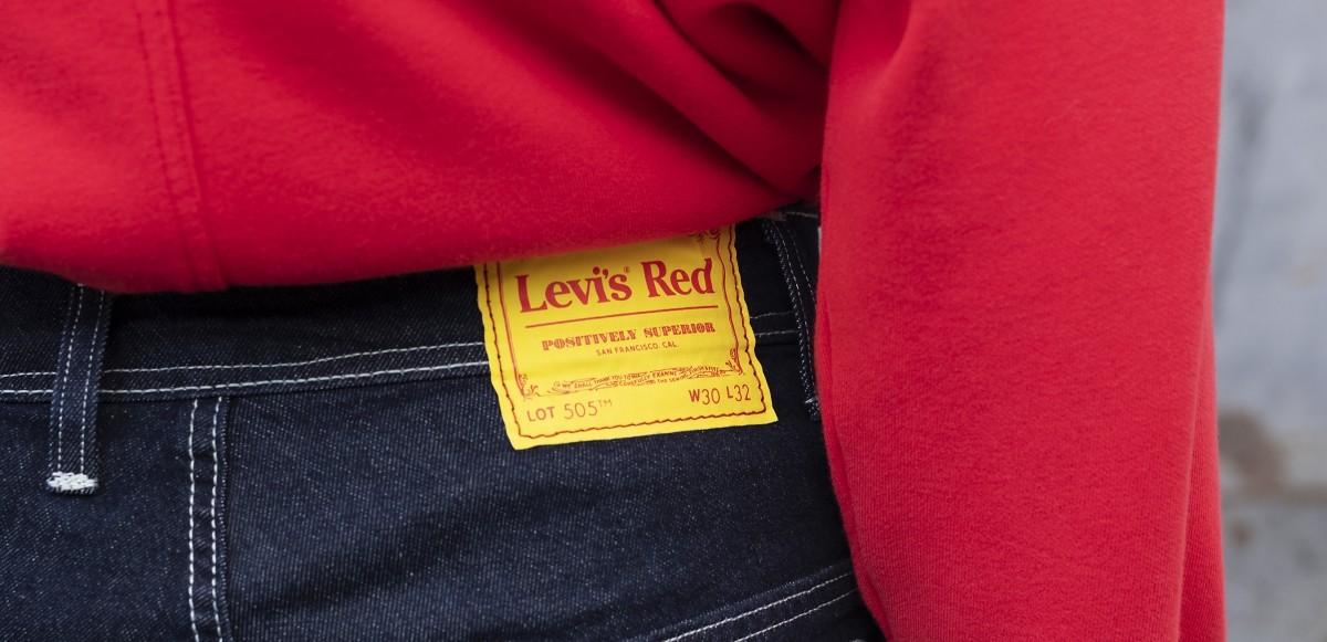 "Levi's återlanserar ""Levi's Red"""