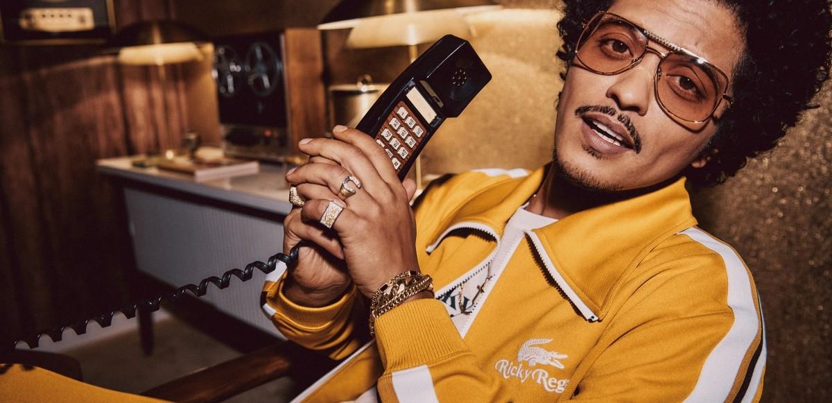 Bruno Mars släpper sin första lifestylekollektion: Lacoste x Ricky Regal