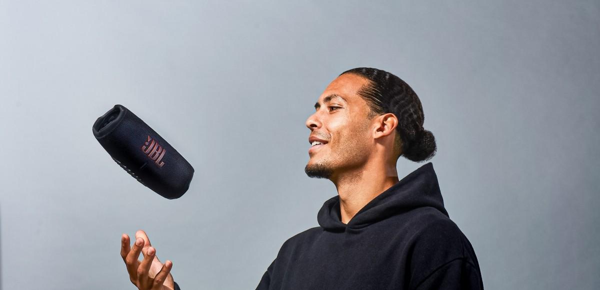 Virgil van Dijk blir JBL's nya globala ambassadör