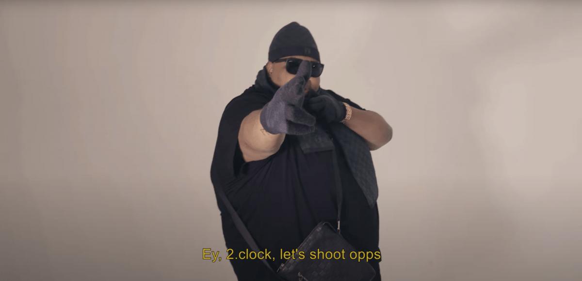 """Kolla in musikvideon till Biggie Jukes """"NO CAP TALK"""""""