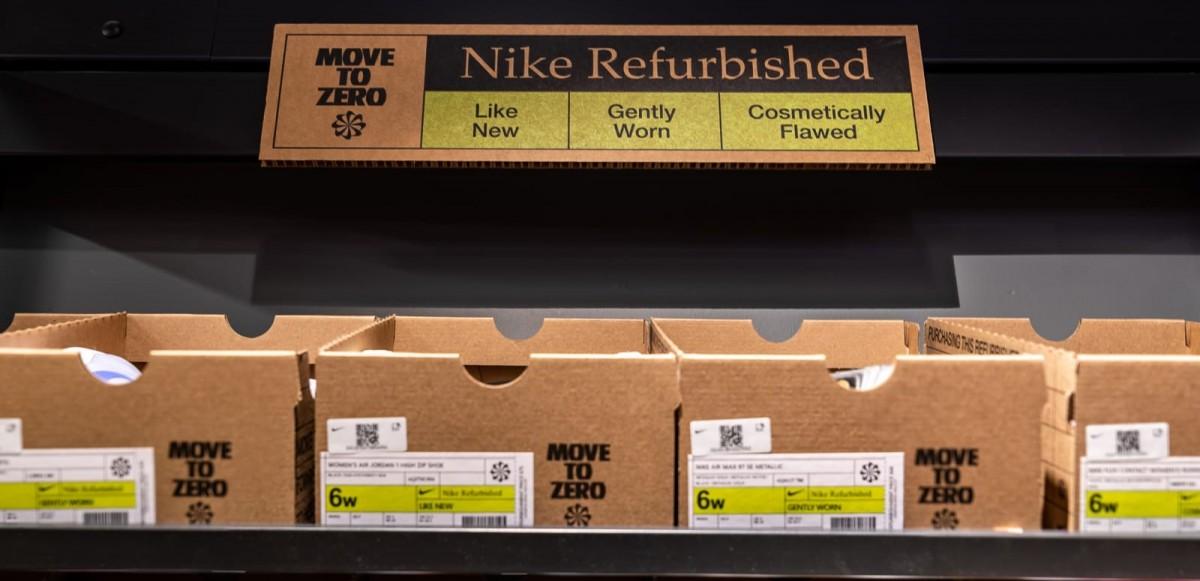 Nike startar resellbusiness 'Refurbished' – rengör gamla sneakers