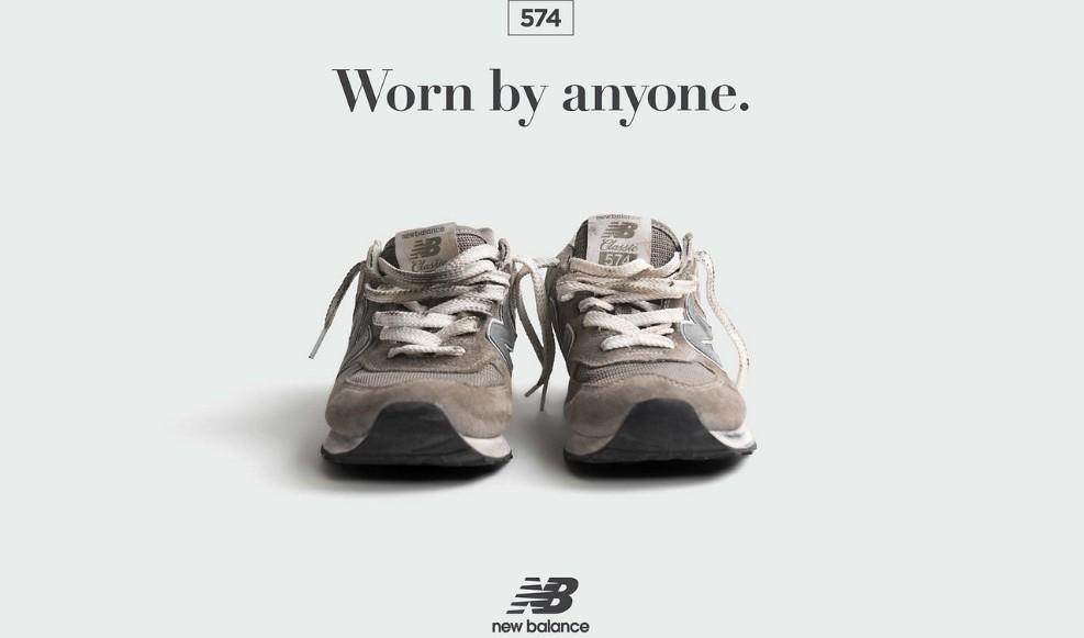 New Balance hyllar den grå skon med nya varianter på 574