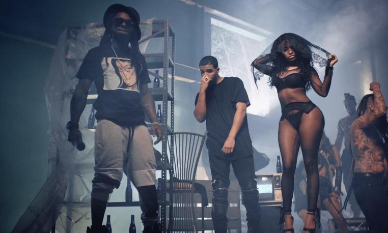 """Hör Nicki Minaj, Drake & Lil Wayne återförenas på """"Seeing Green"""""""