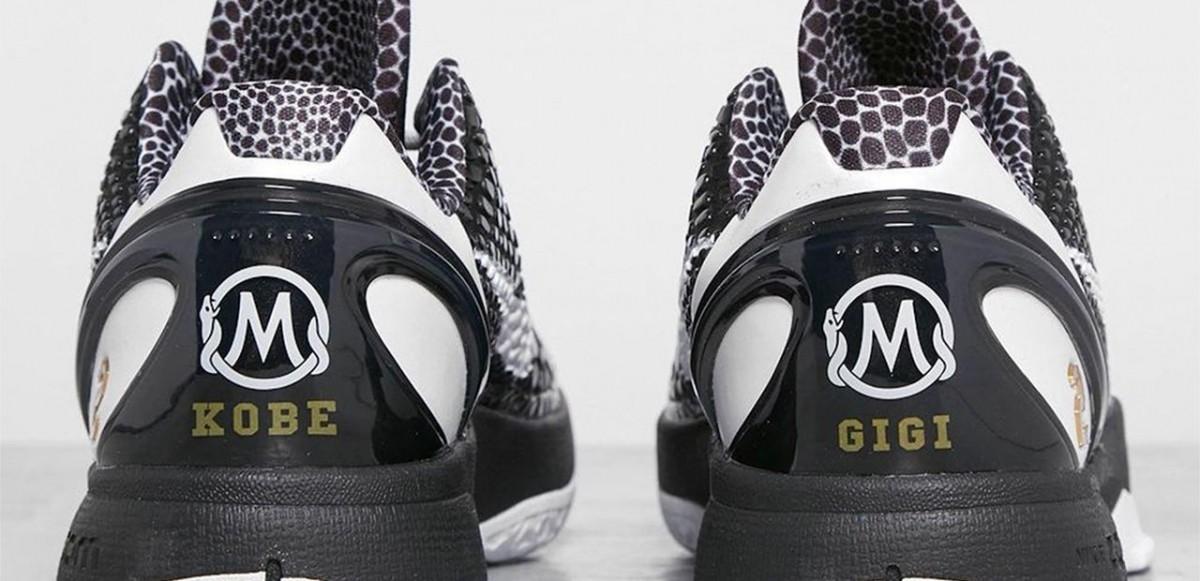 """Nike hyllar Kobe's bortgångna dotter Gigi Bryant med Kobe 6 Protro """"Mamba Forever"""""""