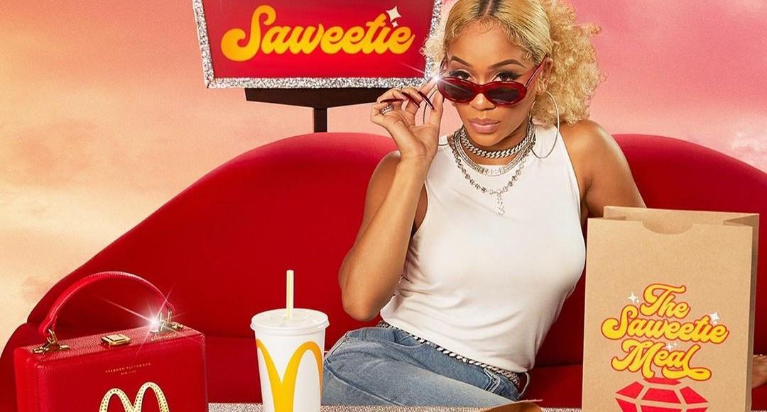 Saweetie inleder samarbete med McDonald's